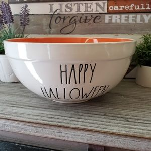 NEED GONE Rae Dunn HAPPY HALLOWEEN Trick Bowl NWT